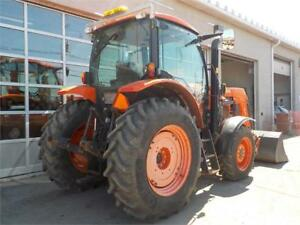 2014 KUBOTA M100GX WITH HLA BLADE ONLY 597 HOURS
