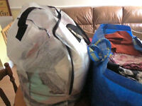 Huge job lot of womens clothing ideal for boot sale