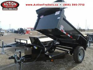 BEST QUALITY SINGLE AXLE DUMP TRAILER - LOW PROFILE $92 MONTHLY