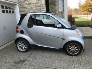 2009 Smart Fortwo Silver Convertible