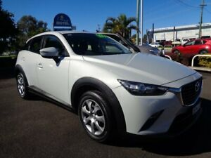 2015 Mazda CX-3 DK2W76 Neo SKYACTIV-MT White 6 Speed Manual Wagon West Ballina Ballina Area Preview