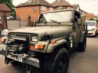 Jeep Wrangler 2.5, Hard & Soft top, Petrol, good Runner, MOT,Low mileage, Extras.