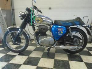 1967 BSA Royal Star Running Restoration Project