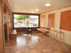 Downtown location Commercial space for rent or sale