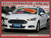 2015 Ford Mondeo MD Ambiente Tdci White 6 Speed Automatic Wagon Homebush Strathfield Area Preview