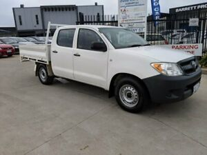 2006 Toyota Hilux TGN16R MY07 Workmate 4x2 White 5 Speed Manual Utility Fyshwick South Canberra Preview