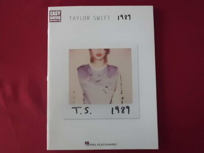 Taylor Swift - 1989 . Songbook Notenbuch Easy Guitar