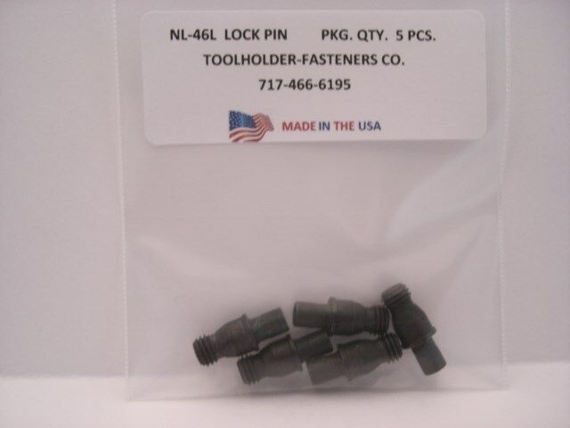 5 Pieces NL-46L ... KL-46L ... MN-46L ... Lock Pin