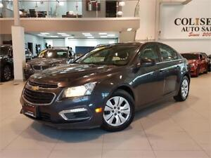 2015 Chevrolet Cruze LT-AUTO-REAR CAM-BLUETOOTH-ONLY 71KM