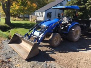 2008 New Holland TC40DA 40Hp Compact Tractor and Loader