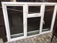 Double glazed window.
