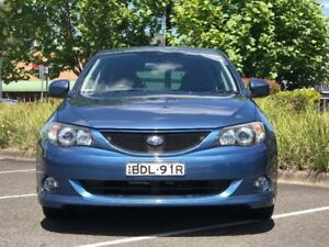 2007 Subaru Impreza G3 RS Blue Sports Automatic Hatchback