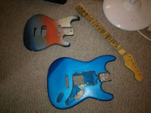 WANTED...Will pickup old guitar parts