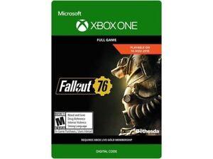 Fallout 76 xbox one digital copie avec bonus