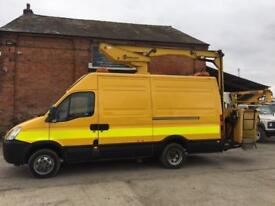 NEW SHAPE IVECO DAILY 12.5M ACCESS PLATFORM/CHERRY PICKER/MEWP 32,000 MILES