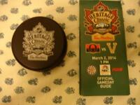 @ 2014 Canucks vs Senators NHL Heritage Classic souvenirs @@