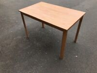 Small table ...
