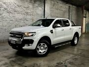 2016 Ford Ranger PX MkII XLT Double Cab White 6 Speed Sports Automatic Utility Mile End South West Torrens Area Preview