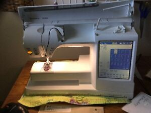 Husqvarna designer se embroidery and sewing machine