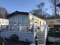 LUXURY STATIC CARAVAN FOR SALE IN NORTH WALES- SITED ON BRYNTEG 5* PARK SNOWDONIA- DECKING INCLUDED