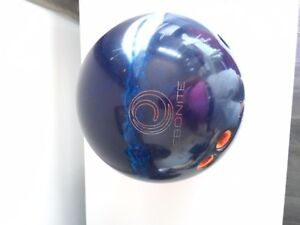 BOULE DE QUILLE  BLUE EBONITE 15 LBS