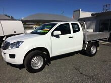 2012 Isuzu D-MAX TF MY12 SX (4x4) White 5 Speed Manual Spacecab Gloucester Gloucester Area Preview