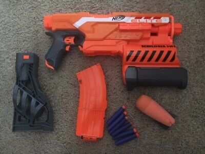 NERF N-Strike Elite Demolisher 2 in 1 Blaster (It works)