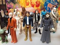 Wanted - Star Wars figures and toys - Cash paid
