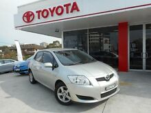 2009 Toyota Corolla ZRE152R MY09 Ascent Sterling Silver 6 Speed Manual Hatchback Allawah Kogarah Area Preview