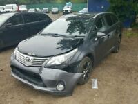 Toyota Avensis MK3 2012 2.2 Diesel 6 Speed Manual BRAKING FOR SPARES-PARTS-DISMANTLING-FREE DELIVERY