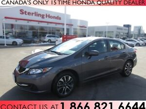 2014 Honda Civic EX | 1 OWNER | ACCIDENT FREE | LOW KM'S!!