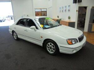 2002 Hyundai Grandeur XG White 5 Speed Sports Automatic Sedan Wangara Wanneroo Area Preview