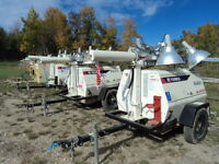 6 KW LIGHT TOWERS FOR SALE