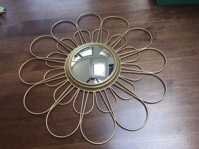 Sunflower Mirror from M&S. RRP £59. Collect Fulham