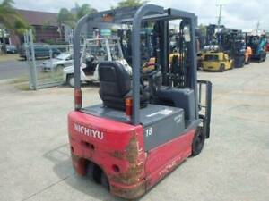 F3625: NICHIYU 3 WHEEL COUNTER BALANCE ELECTRIC FORKLIFT Geebung Brisbane North East Preview