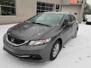 2013 Honda Berline Civic LX Sedan 4D (GARANTIE 1 ANS INCLUS)