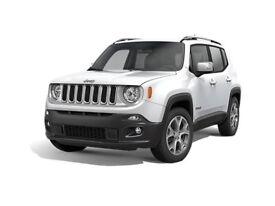 Jeep Renegade Mirror Cap Set (Silver)