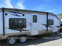 **SLEEPS 8! **LIGHTWEIGHT! **LEATHER! **TRAVEL TRAILER FOR SALE!