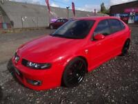 SEAT LEON 1.8T CUPRA 'R' 225~53/2003~5 DOOR HATCHBACK~6 SPEED MANUAL~STUNNING