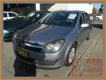 2005 Holden Astra AH CD Grey 4 Speed Automatic Hatchback Warwick Farm Liverpool Area Preview