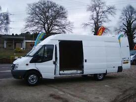 2011 FORD TRANSIT 2.4 TDCi 350 EL Jumbo High Roof Van NO VAT VERY CLEAN VAN