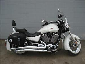2013 Victory Boardwalk White