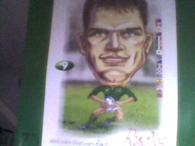 Joost van der Westhuizen picture 1999 rugby world cup