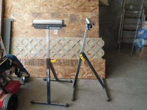 Roller Stands for Saw