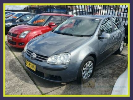 2006 Volkswagen Golf V Comfortline Grey 5 Speed Manual Hatchback Lansvale Liverpool Area Preview