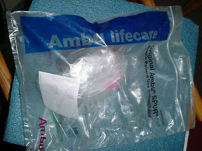 3 Original Ambu Spur Single Patient Use Adult Resuscitator 420-211-000