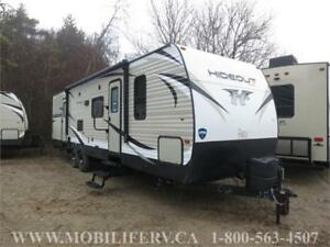 2018 KEYSTONE HIDEOUT 31RBDS TRAILER FOR SALE*SEPARATE BUNKHOUSE