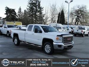 2015 GMC SIERRA 3500HD SLE DOUBLE CAB LONG BOX 4X4