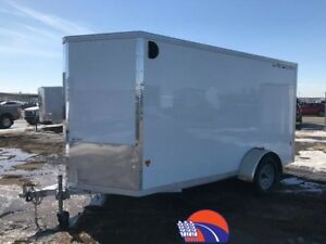 2016 Cargo Pro 6 X12 v-NOSE FRONT