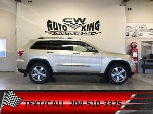 2011 Jeep Grand Cherokee Overland / Leather / Panoramic / Nav /
